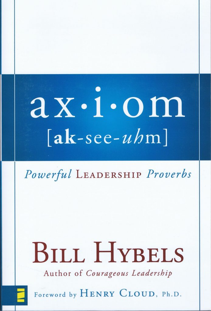 Axiom - Bill Hybels - Buy Christian Books Online here