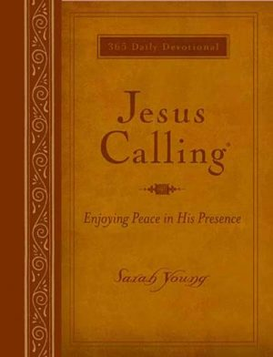 Jesus Calling - Deluxe Leather - Sarah Young - Buy Christian Books Online here