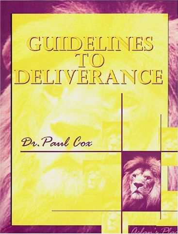 Guidelines to Deliverance - Paul L Cox - Buy Christian Books Online here