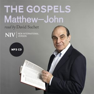 NIV Audio Bible - The Gospels - Matthew-John - Read by David Suchet - Buy Christian Books Online here
