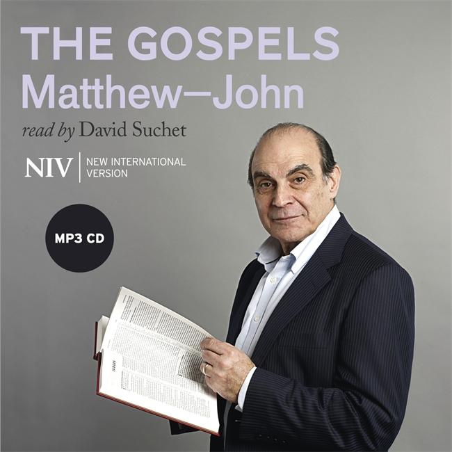 NIV Audio Bible - The Gospels - Matthew-John - Read by David Suchet - Buy Christian Books Online here