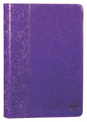 tPt - New Testament: Leather - Purple - Buy Christian Books Online here