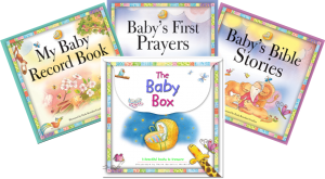 The Baby Box with contents - Buy Christian Books Online here