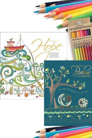 Free Colouring Pencils with Images of Hope & Exploring the Psalms - Buy Christian Books Online here