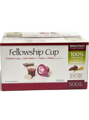 Fellowship Cups - box of 500 - for Holy Communion - Buy Christian Books & Supplies Online here