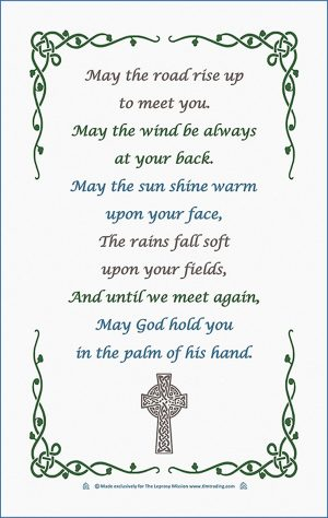Celtic blessing Tea Towel - Buy Christian Books & Gifts Online here