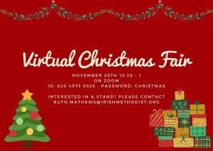 Virtual Christmas Fair 2020 Portlaoise - Buy Christian Books & Gifts Online here