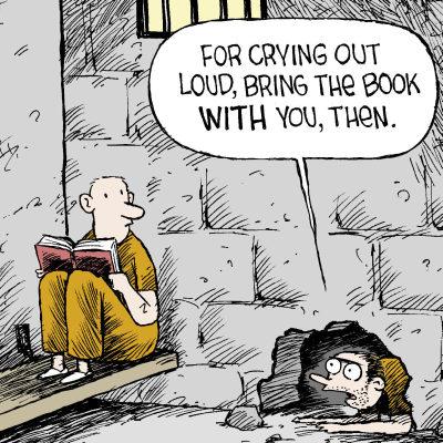 Books for prisoners
